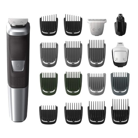 Philips Norelco MG575049 Multigroom All-In-One Trimmer Series 5000 With 18Piece