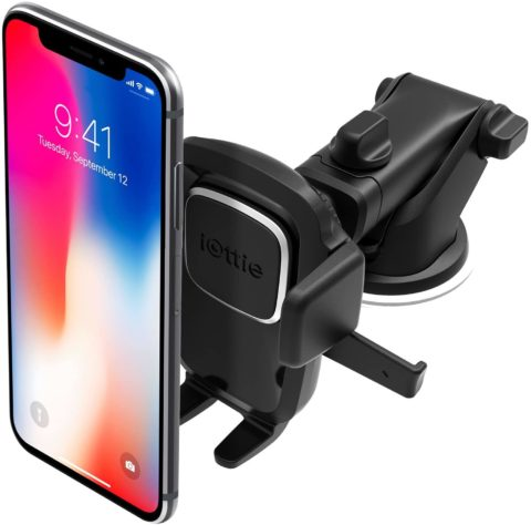 iOttie Easy One Touch 4 Dash & Windshield Car Mount Phone Holder Desk Stand Pad & Mat