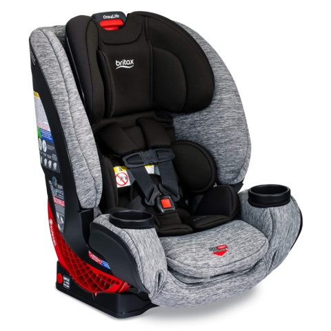 Britax One4Life ClickTight All-In-One Car Seat – 10 Years of Use – Infant, Convertible, Booster – 5 to 120 Pounds, Spark