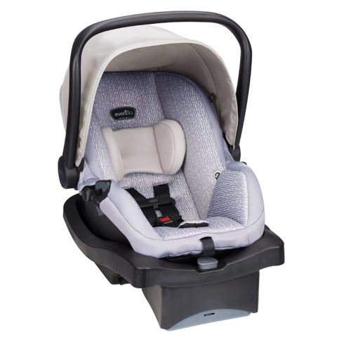 Evenflo LiteMax 35 Infant Car Seat, Easy to Install, Versatile & Convenient, Meets or Exceeds All Federal Safety Standards