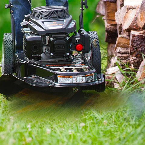 Remington RM1159 159cc 4-Cycle Gas Powered Walk-Behind High-Wheeled String Trimmer - 22-Inch Trimming Mower